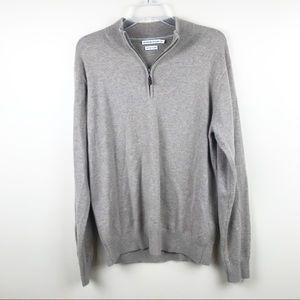 Peter Millar golf Men's half zip cashmere sweater